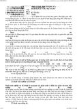 Giáo trình lý thuyết kế toán - Chương I Tiền và các khoản tương đương tiền