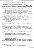 Giáo trình lý thuyết kế toán - CHƯƠNG II: PHƯƠNG PHÁP CHỨNG TỪ KẾ