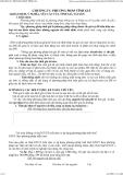 Giáo trình lý thuyết kế toán - CHƯƠNG IV: PHƯƠNG PHÁP TÍNH GIÁ