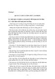 ĐỊNH MỨC LAO ĐỘNG - Chương 4 QUẢN LÝ CHẤT LƯỢNG MỨC LAO ĐỘNG