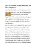 Sự ra đời tờ tiền giấy đầu tiên của nước Việt Nam Dân Chủ Cộng Hòa Thứ