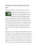 Tài liệu về Thời đại Đá cũ và dấu vết Người Vượn ở Việt Nam