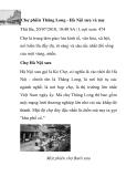 Chợ phiên Thăng Long - Hà Nội xưa và nay
