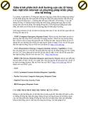 Giáo trình phân tích ảnh hưởng của các lổ hỏng bảo mật trên internet và phương pháp khắc phục cho hệ thống p1