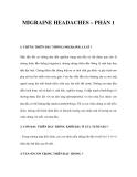 MIGRAINE HEADACHES – PHẦN 1