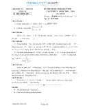 Đề thi (có đáp án chi tiết) học sinh giỏi tỉnh Lào Cai năm học 2010-11