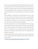 THỊ TRƯỜNG BẢO HIỂM NHÂN THỌ VIỆT NAM – THỰC TRẠNG VÀ TRIỂN VỌNG - phần 2