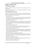 Giáo trình CẤU TRÚC DỮ LIỆU VÀ GIẢI THUẬT - Chương 4