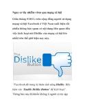 Nguy cơ lây nhiễm virus qua mạng xã hội