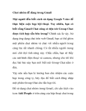 Chat nhóm dễ dàng trong Gmail