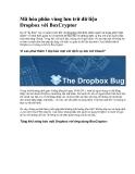 Mã hóa phân vùng lưu trữ dữ liệu Dropbox với BoxCryptor