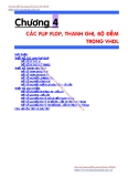 GIÁO TRÌNH KỸ THUẬT PLD & ASIC - CHƯƠNG 4 CÁC FLIP FLOP, THANH GHI, BỘ ĐẾM TRONG VHDL