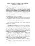 QUÁ TRÌNH LỌC TÁCH VẬT LÝ - Chương 1 : ỨNG DỤNG QUÁ TRÌNH CHƯNG CẤT, HẤP THỤ TRONG CÔNG NGHỆ LỌC DẦU