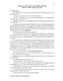 QUÁ TRÌNH LỌC TÁCH VẬT LÝ - Chương 4 : ỨNG DỤNG QUÁ TRÌNH HẤP PHỤ TRONG CÔNG NGHỆ LỌC DẦU
