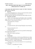 Thí nghiệm vi sinh vật học - BÀI 9 : PHƯƠNG PHÁP THU NHẬN VÀ XÁC ĐỊNH HOẠT TÍNH ENZYM TỪ VI SINH VẬT