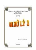 GIÁO TRÌNH VI XỬ LÝ 2 - CHƯƠNG 1. THIẾT KẾ CÁC ỨNG DỤNG DÙNG VI ĐIỀU KHIỂN