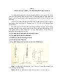 GIÁO TRÌNH THÍ NGHIỆM GỐM SỬ - BÀI 2 TÍNH CHẤT LƯU BIẾN – ĐO ĐỘ DẺO PHỐI LIỆU GỐM SỨ