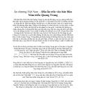 Ấn chương Việt Nam - Dấu ấn trên văn bản Hán Nôm triều Quang Trung