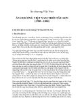 Ấn chương Việt Nam  -ẤN CHƯƠNG VIỆT NAM THỜI TÂY SƠN (1788 - 1802)