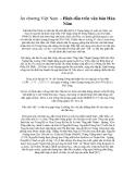 Ấn chương Việt Nam - Hình dấu trên văn bản Hán Nôm