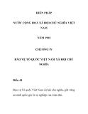 HIẾN PHÁP  NƯỚC CỘNG HOÀ XÃ HỘI CHỦ NGHĨA VIỆT NAM  NĂM 1992 - CHƯƠNG IV