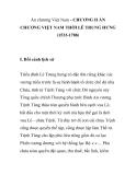 Ấn chương Việt Nam - CHƯƠNG II ẤN CHƯƠNG VIỆT NAM THỜI LÊ TRUNG HƯNG (1533-1788)