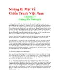 Những Bí Mật Về Chiến Tranh Việt Nam - Chương 31 Đường đến Watergate