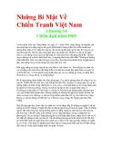 Những Bí Mật Về Chiến Tranh Việt Nam - Chương 14 Chiến dịch năm 1969