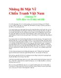 Những Bí Mật Về Chiến Tranh Việt Nam - Chương 19 Giết chóc và cỗ máy nói dối