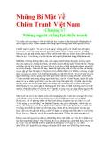 Những Bí Mật Về Chiến Tranh Việt Nam - Chương 17 Những người chống lại chiến tranh
