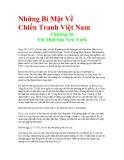 Những Bí Mật Về Chiến Tranh Việt Nam - Chương 26 Tới Thời báo New York