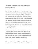 Ấn chương Việt Nam - Quy cách sử dụng các Kim ngọc Bảo Tỷ
