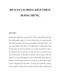 BỔ SUNG LH TRONG KÍCH THÍCH BUỒNG TRỨNG