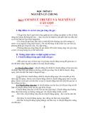 CƠ SỞ LÝ THUYẾT VÀ NGUYÊN LÝ CẮT GỌT KIM LOẠI part 1