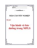 Báo cáo tốt nghiệp: Vận hành và bảo dưỡng trong MPLS