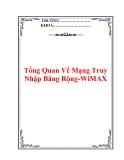 Tổng Quan Về Mạng Truy Nhập Băng Rộng-WiMAX