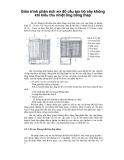 Giáo trình phân tích sơ đồ cấu tạo bộ sấy không khí kiểu thu nhiệt ống bằng thép p1