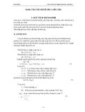 Giáo trình thực hành máy và quá trình thiết bị ( hệ trung cấp ) - Bài 2