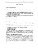 Giáo trình thực hành máy và quá trình thiết bị ( hệ trung cấp ) - Bài 3