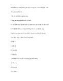 BÀI TRẮC NGHIỆM Y KHOA - ĐỀ SỐ 1