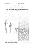 Kỹ thuật cao áp : Cách điện của đường dây trên không