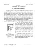 Kỹ thuật cao áp : Cách điện của máy biến áp