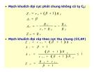 Điện tử học : Mạch khuếch đại tín hiệu nhỏ part 9
