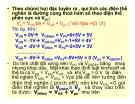 Điện tử học : Transistor trường ứng( FET) part 4