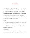 Bài 8: TRỊ LIỆU ADHD