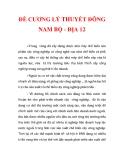 ĐỀ CƯƠNG LÝ THUYẾT ĐÔNG NAM BỘ - ĐỊA 12_3