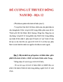 ĐỀ CƯƠNG LÝ THUYẾT ĐÔNG NAM BỘ - ĐỊA 12_4
