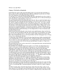Nhớ lại và suy nghĩ -  Chương 1: Thời thơ ấu và thanh niên