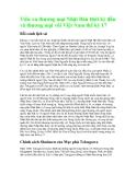 Tiền xu thương mại Nhật Bản thời kỳ đầu và thương mại với Việt Nam thế kỷ 17