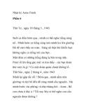 Nhật ký Anne Frank  - Phần 6